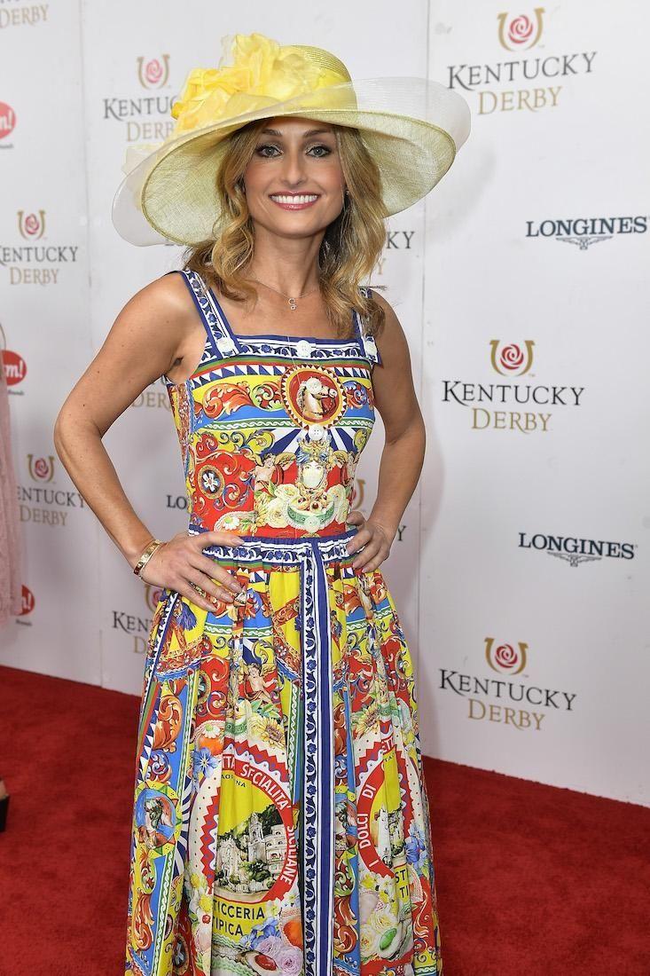 Giada De Laurentiis attends the 143rd Kentucky Derby