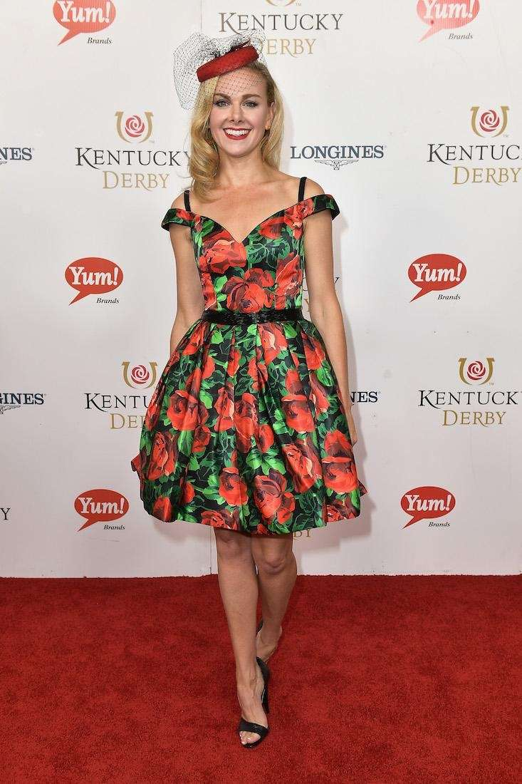 Laura Bell Bundy attends the 143rd Kentucky Derby
