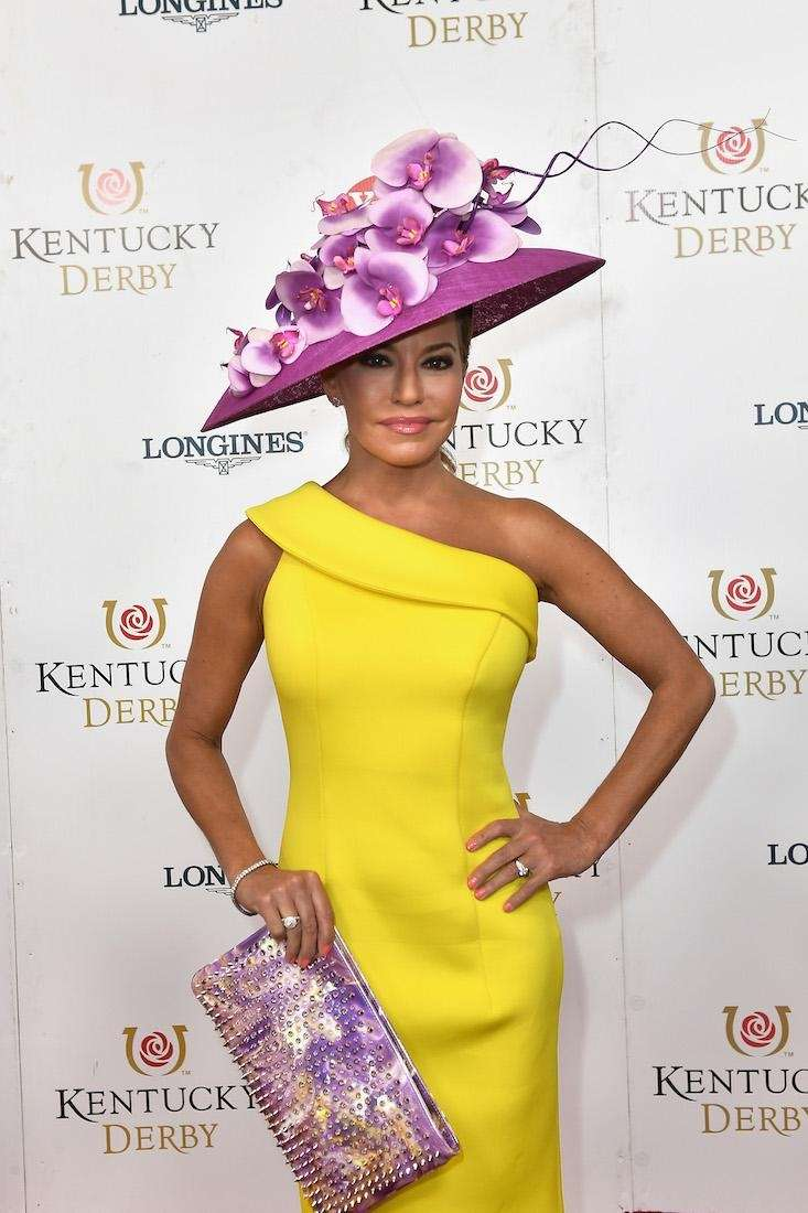 Robin Meade attends the 143rd Kentucky Derby at