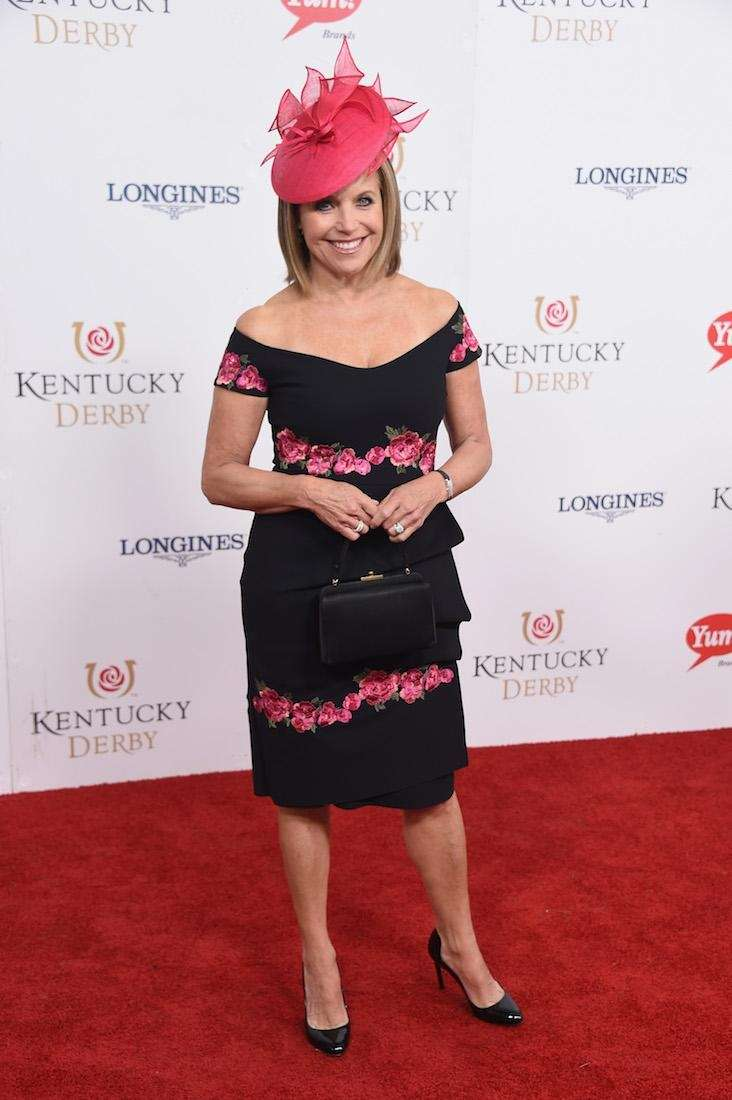 Katie Couric attends the 143rd Kentucky Derby at