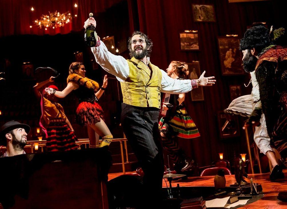 Josh Groban made his Broadway debut at the