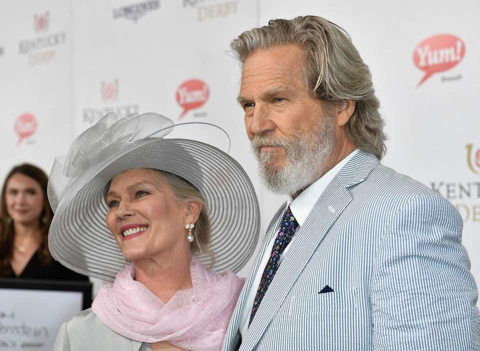 Susan Geston and Jeff Bridges attend the 143rd