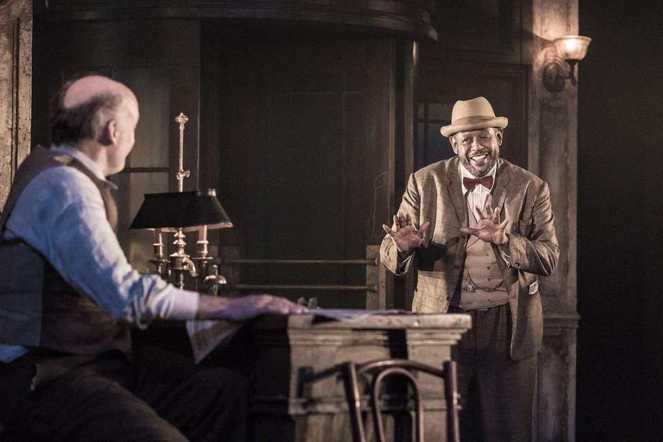 Forest Whitaker, right, made his Broadway debut in