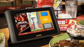 Applebee's locations across Long Island feature tabletop tablets