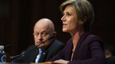 Former acting Attorney General Sally Yates and former