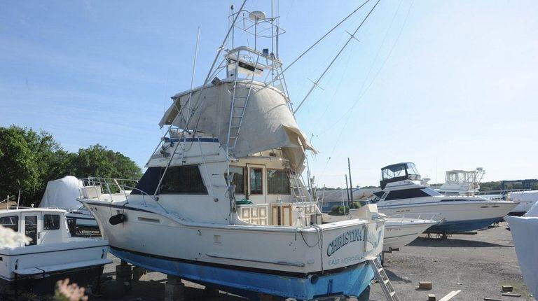 John Scott Prudenti's party boat, the Christina Marie,