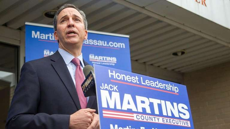 Republican Jack Martins announces he is running for