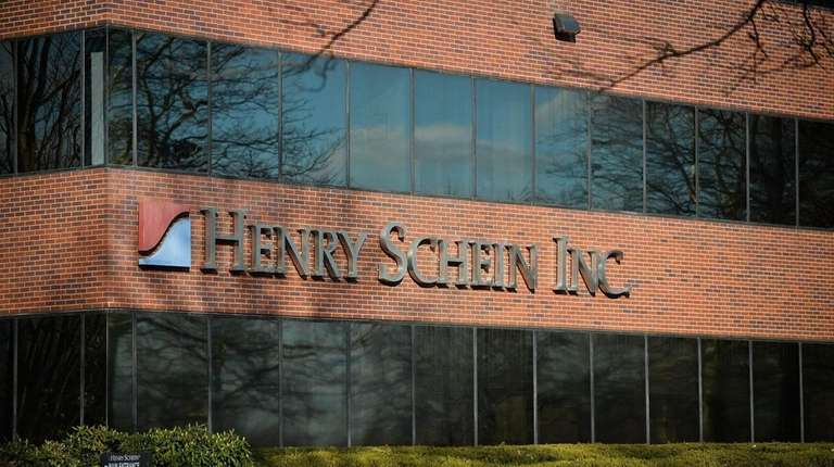 The Henry Schein Inc. building in Melville, Wednesday,