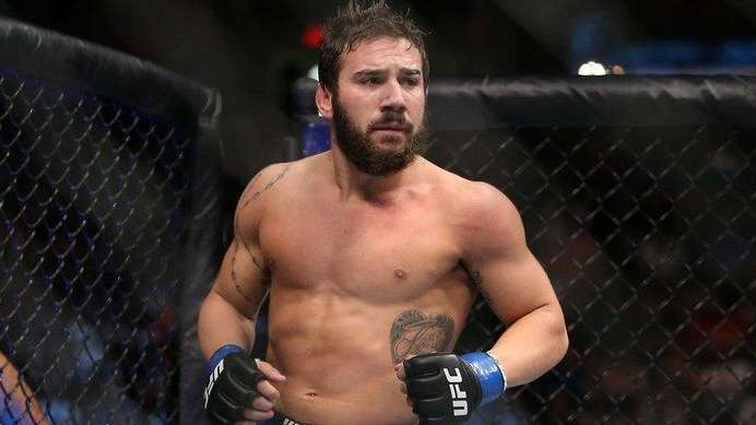 Jimmie Rivera prepares to face Urijah Faber at