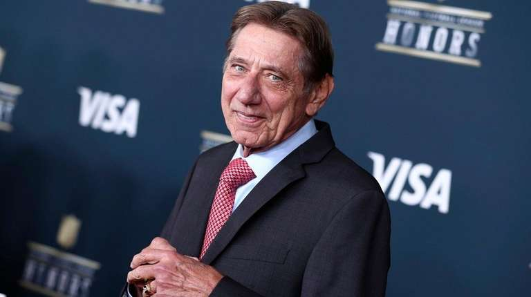 Jets Hall of Famer Joe Namath arrives at