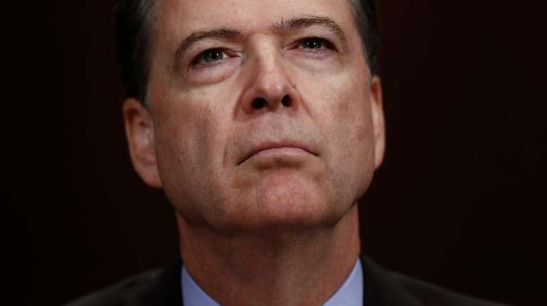 FBI Director James Comey testifies before a Senate