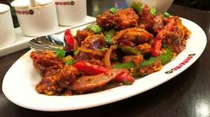 Nanking chili chicken is on the menu at