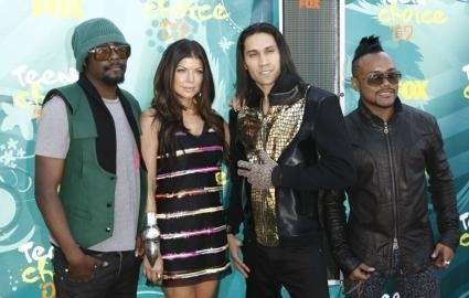 From left, will.i.am, Fergie, Taboo and apl.de.ap, of
