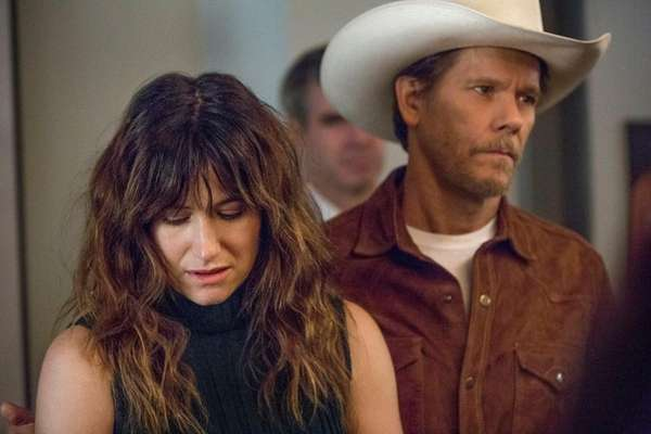 Kathryn Hahn and Kevin Bacon, the object of