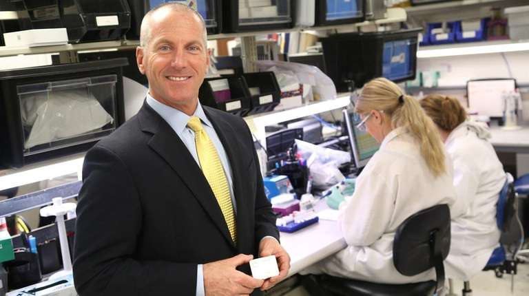 John Sperzel is CEO of Medford-based Chembio Diagnostics,