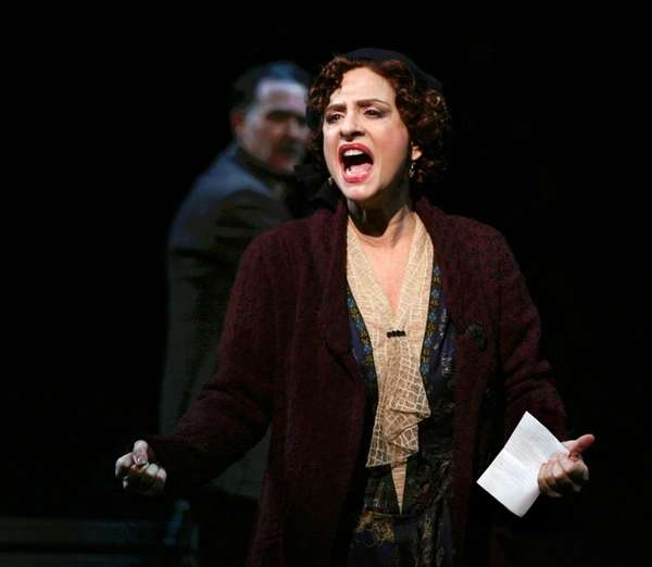 Patti LuPone, seen here in a revival of