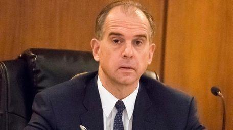Hempstead Town Councilman Edward Ambrosino, seen here on