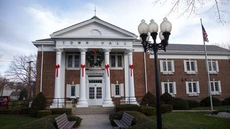 Smithtown Town Hall is shown on Dec. 8,