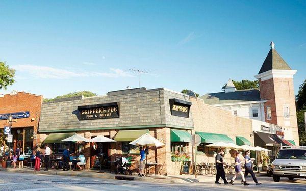 Skipper's Pub on Main Street in Northport on