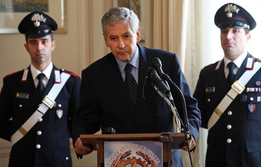 Giovanni Castellaneta, Italian ambassador to the United States,
