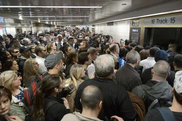 Commuters Fed Up Following Third Straight Day Of Problems At Penn Station