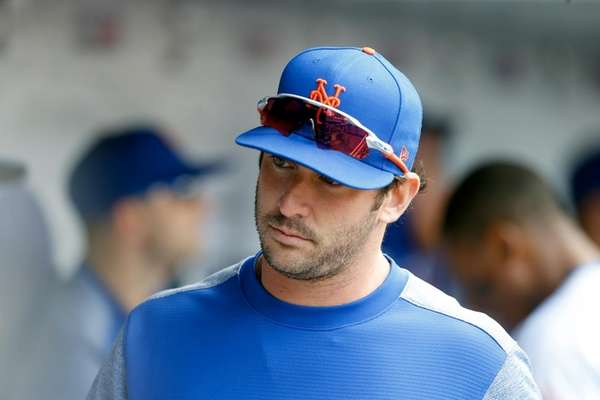 Matt Harvey of the New York Mets looks