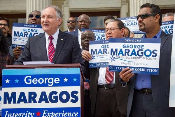 George Maragos, Democratic candidate for Nassau County executive,