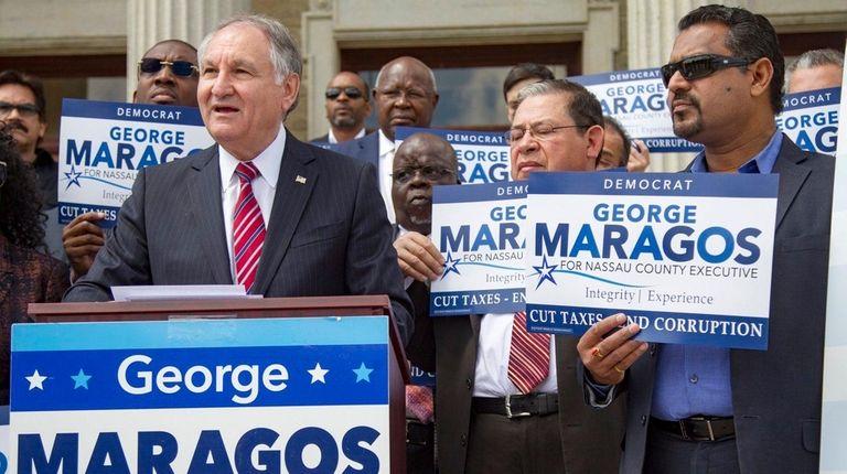 George Maragos, Democratic candidate for Nassau County executive,