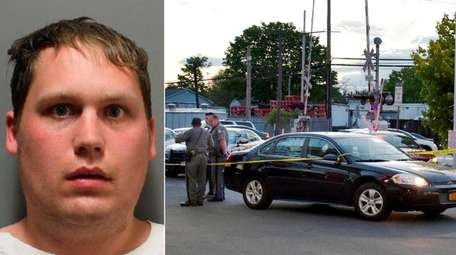James Townsend, 26, of Brentwood, was arrested Wednesday,