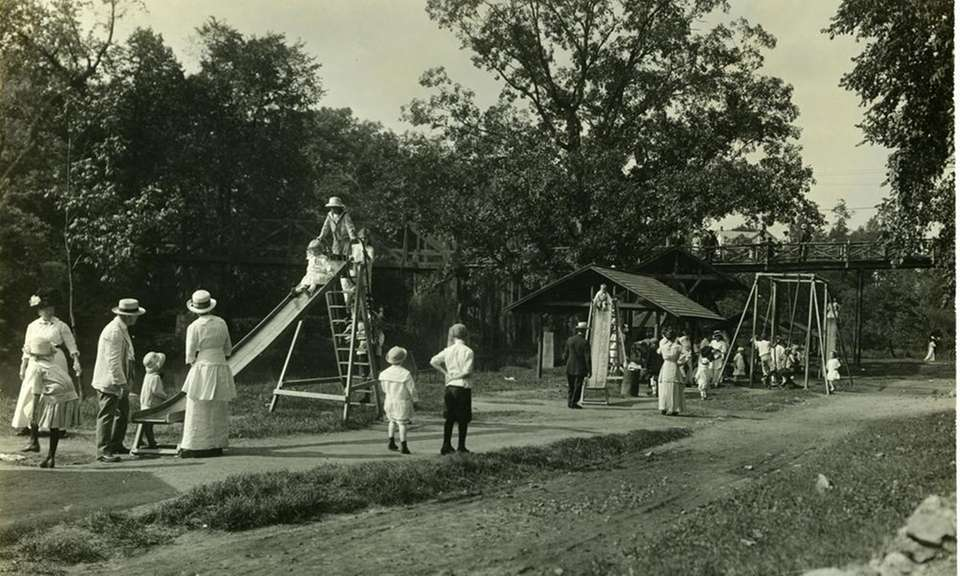 The park was originally a picnic and pleasure