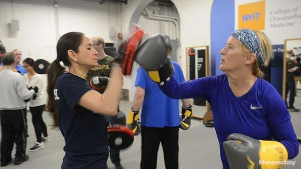 Rock Steady boxing helping Parkinson's patients