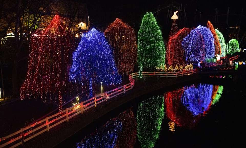 Hersheypark celebrates the four seasons. Summer, of course,