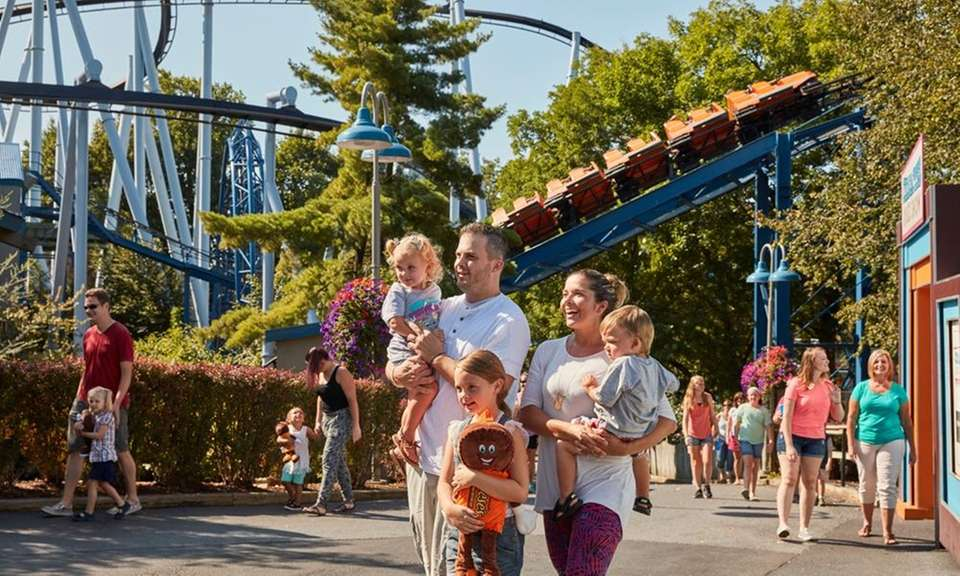 Hersheypark is designed so families can enjoy rides