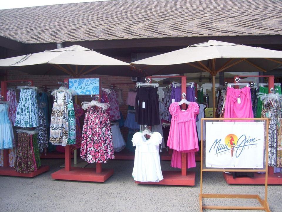 Maui Jim sells clothes, accessories, and beach gear
