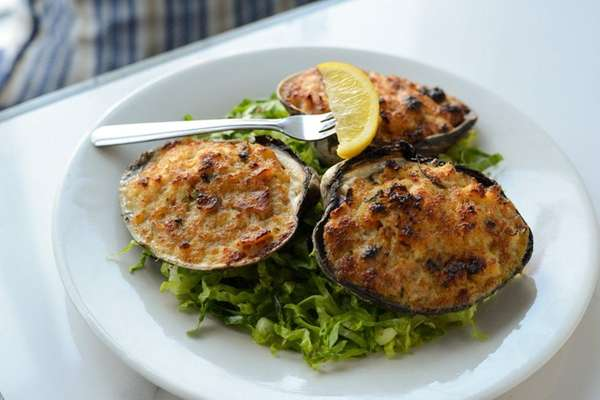 Baked clam