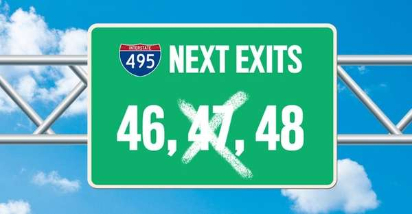 Why isn't there an Exit 47 on the