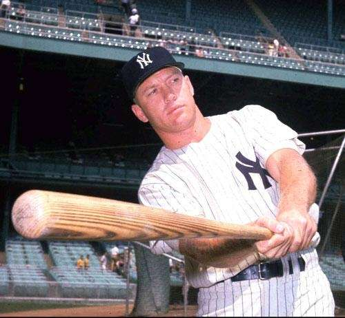 7   MICKEY MANTLE   Number retired: June