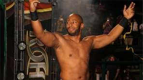 Pro wrestler Jay Lethal is seen in this