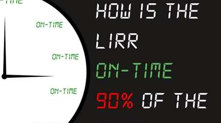 How can late LIRR trains officially be considered