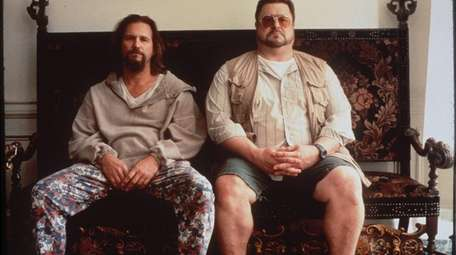 Jeff Bridges, left, and John Goodman in