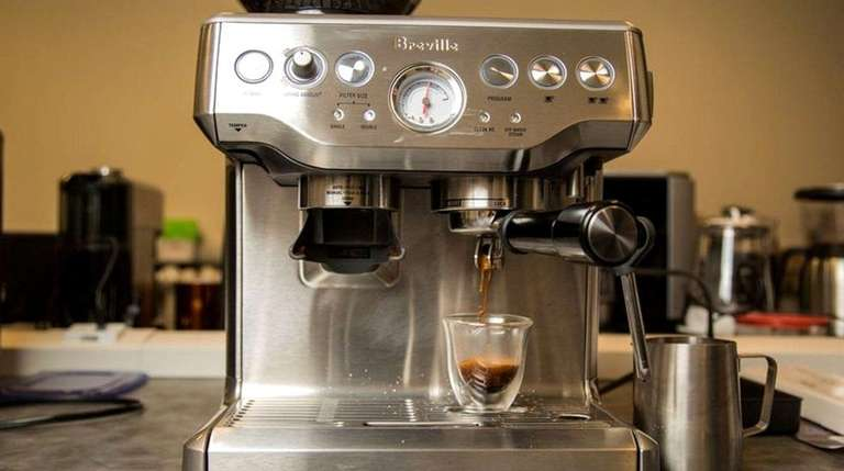 The Breville Barista Express has been rated one