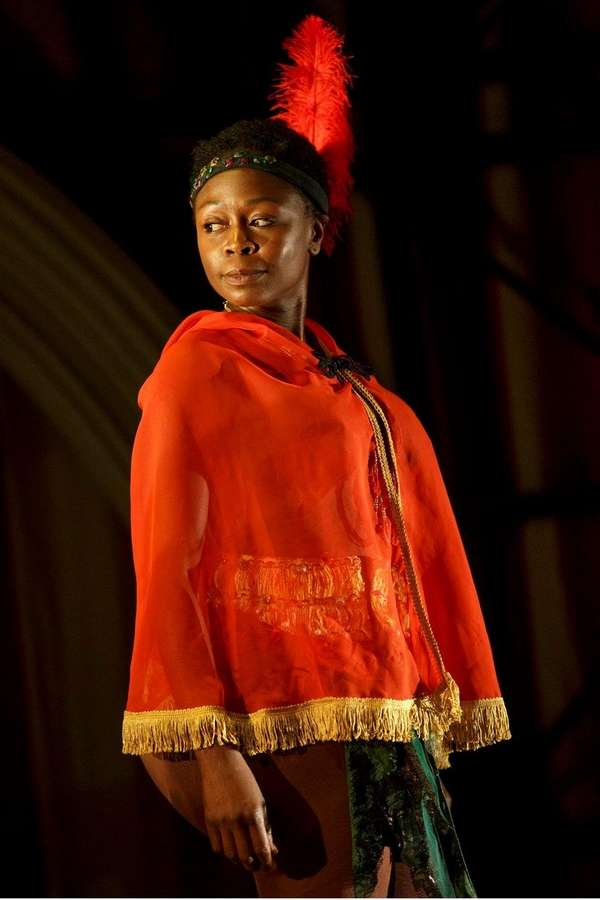 Zainab Jah stars as the Venus Hottentot in