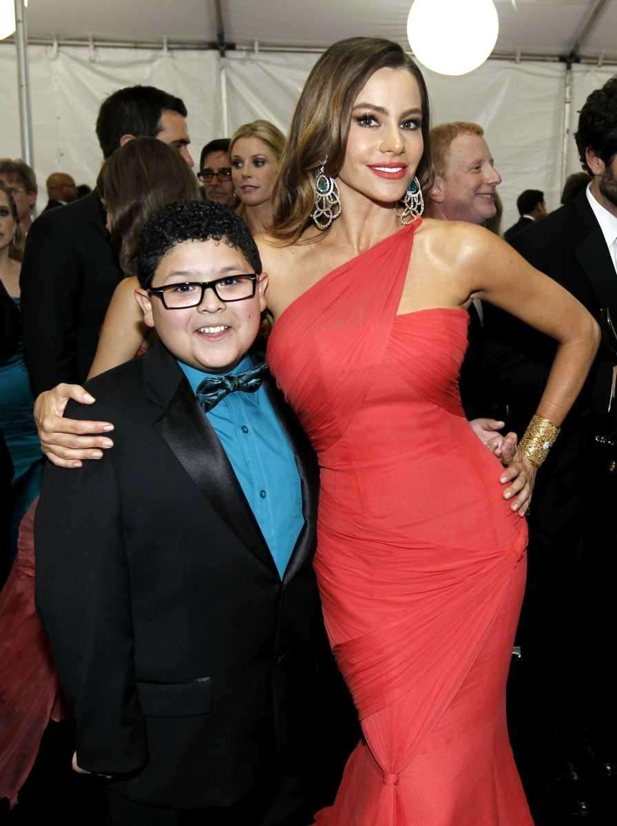 If young Manny is a mama's boy, then