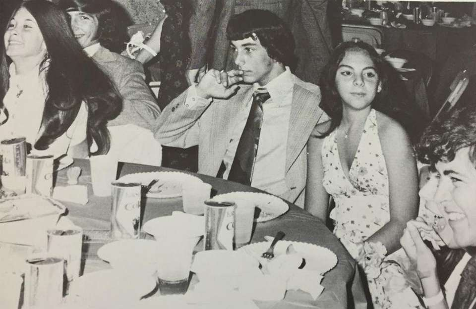 These Farmingdale High School juniors dined together, sipping
