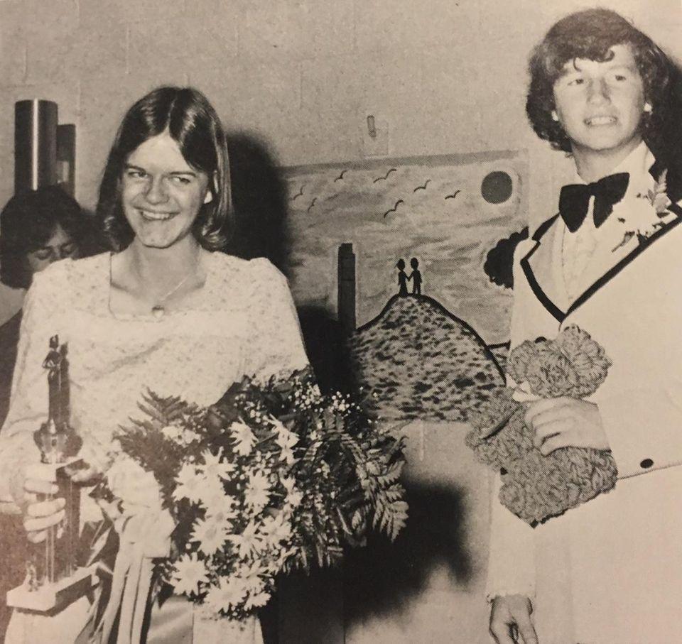 Lisa Herling was crowned Islip High School's junior
