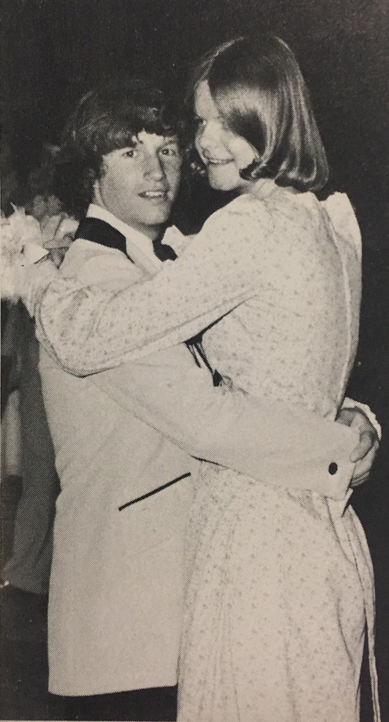 Lisa Herling, who was crowned Islip High School