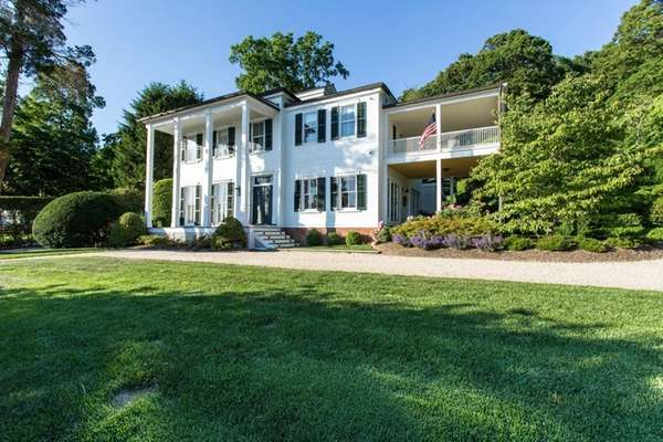 This circa-1855 Cold Spring Harbor Colonial on 2.23