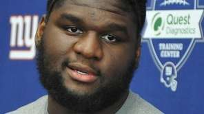 Dalvin Tomlinson, New York Giants defensive tackle who