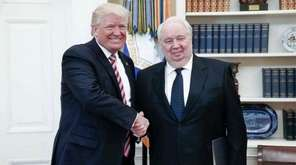 Russian Ambassador Sergey Kislyak and President Donald Trump