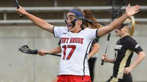 Stony Brook attacker Kylie Ohlmiller broke the NCAA